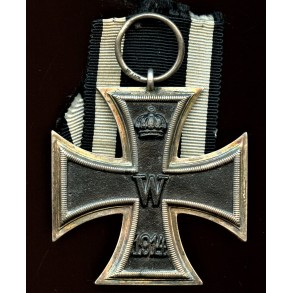 "WW1 Iron cross 2nd class by unknown maker  ""long maker mark"""