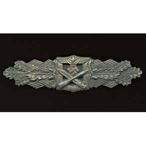 """Close combat clasp in silver """"6 dot variant"""""""