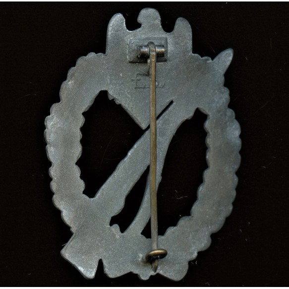 Infantry assault badge in silver badge by Friedrich Orth