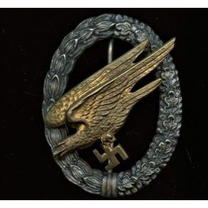 Luftwaffe paratrooper badge by C.E. Juncker