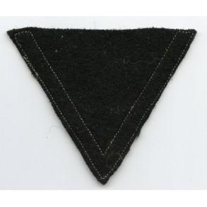 Gefreiter rank patch (Chevron) for panzer troops