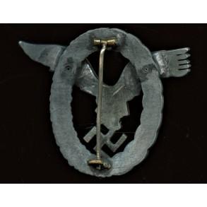 Luftwaffe pilot badge by Friedrich Linden