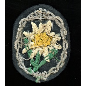 GJ Edelweiss arm patch for officers