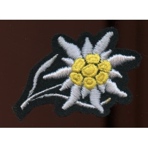 GJ Edelweiss cap patch for SS troops