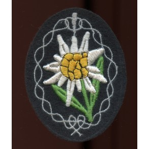 GJ Edelweiss arm patch for mountain trooper units