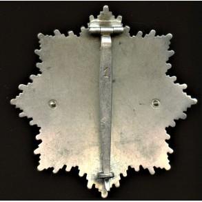 """German cross in silver by Deschler & Sohn, heavy early variant """"1"""""""