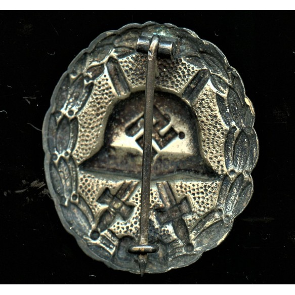 Wound badge in silver, 1st pattern