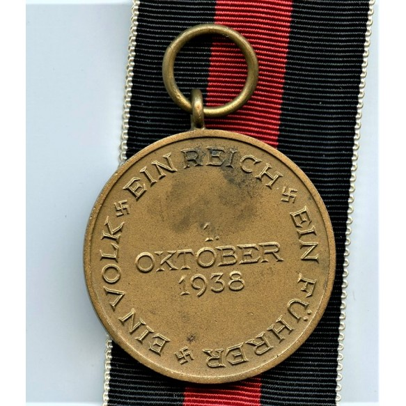 1. October 1938 Czech annexation medal