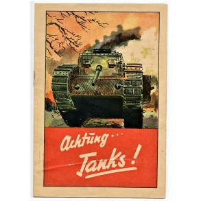 """Period brochure """"Achtung Tanks!"""""""