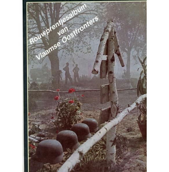 """Collectors book: """"Rouwprentjesalbum van Vlaamse Oostfronters"""" by Luc Ervinck"""