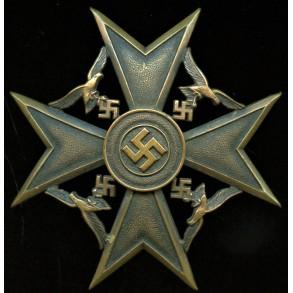 Spanish Cross in silver by Wilhelm Deumer