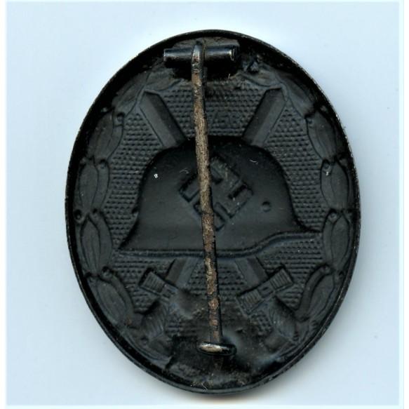 Wound badge in black by Funcke & BrüninghausLüdenscheid