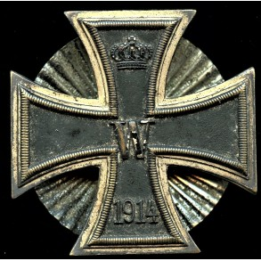1914 iron cross 1st class screwback variant by Otto Schickle