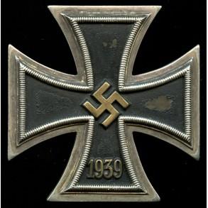 Iron cross 1st class by Steinhauer & Lück, brass core