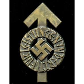 """HJ proficiency badge in bronze """"218412"""""""