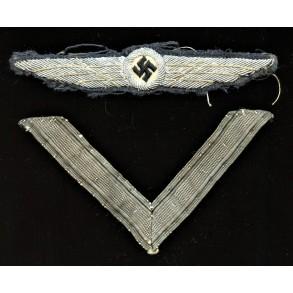 """DLV / NSFK pilot badge """"wings"""""""