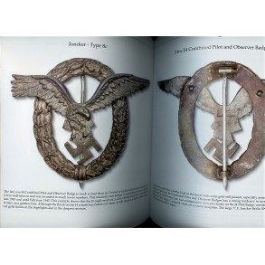 """Luftwaffe pilot observer badge by C.E. Juncker """"J4"""" PUBLISHED example!!!"""