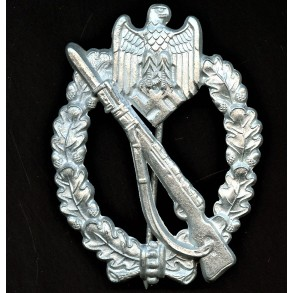 "Infantry assault badge in silver by F.W. Assmann & Sohn ""2"""
