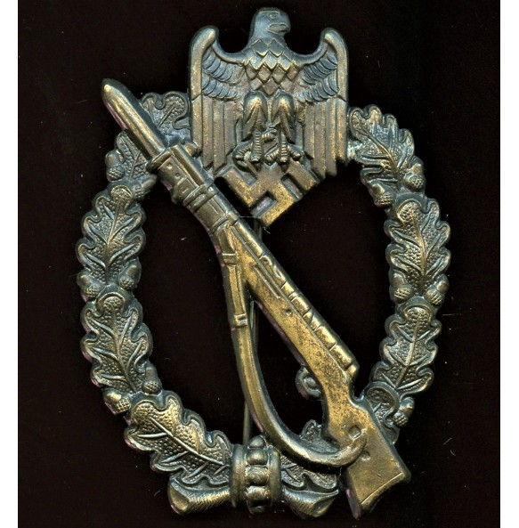 Infantry assault badge in bronze by Rudolf Karneth