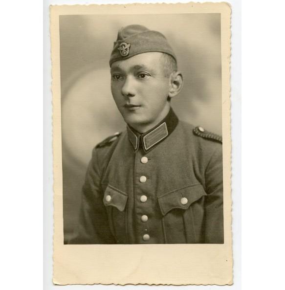 Portrait photo Polizei Unterwachtmeister der Schutzpolizei
