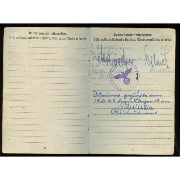 Luftwaffe soldbuch to airgunner H. Meiner. + airgunner pass, NSKK documents,...