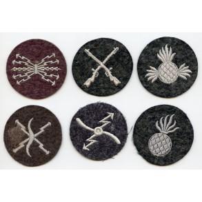 Luftwaffe profiency badge lot of 6 pieces