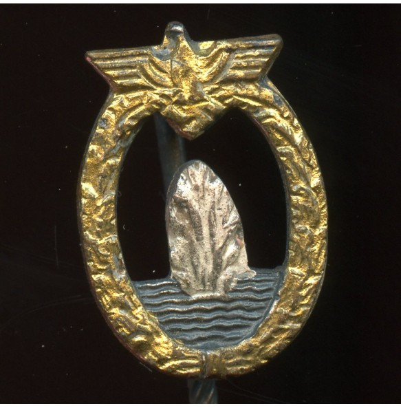 Kriegsmarine minesweeper badge miniature