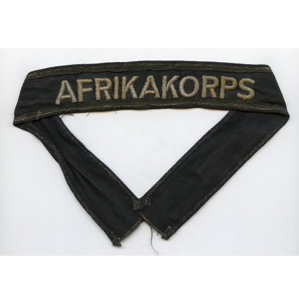 Afrikakorps black armband 15. Panzer Divison