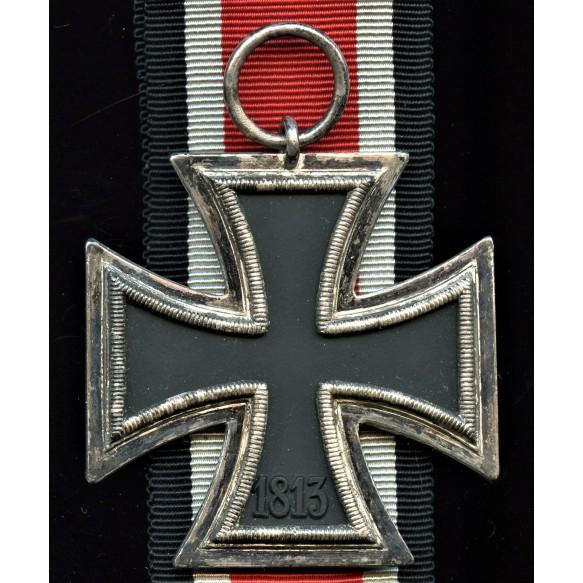 """Iron cross 2nd class by Hanauer Plakettenhersteller """"wide frame"""""""