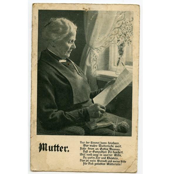 """Period post card """"Mutter"""" 17.5.1940"""