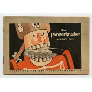 "Tank destruction ""Panzerknacker"" soldiers manual"