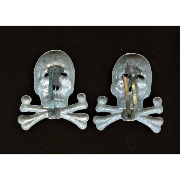 Set of Brunswick panzer skulls