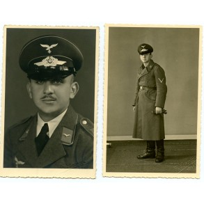 2 Luftwaffe portrait photos taken in Höchst