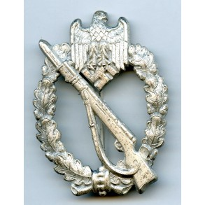 Infantry Assault Badge in silver by R. Karneth