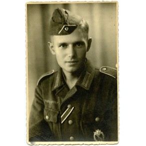 Portrait decorated soldier
