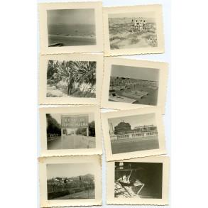 8 private snapshots German Afrikakorps Tripoli 1942