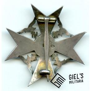 Spanish cross in silver w/o swords by P. Meybauer