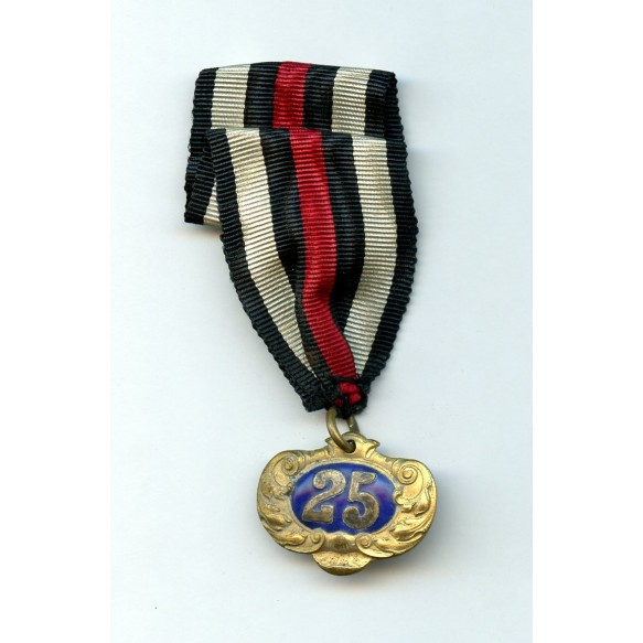 25 year medal by B.H. Mayer