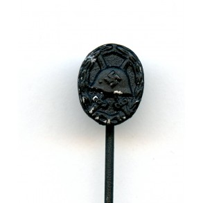 "Wound badge in black 9mm miniature by Foerster & Barth ""L/21"""