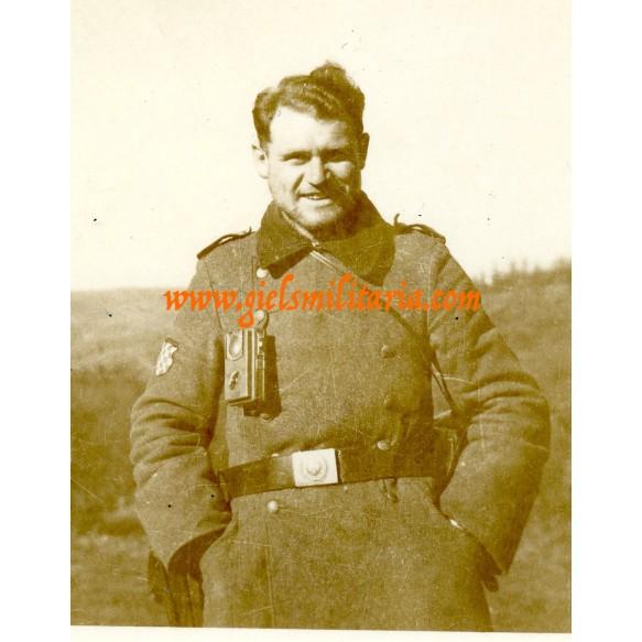 4 private snapshots Croatian Wehrmacht volunteer 1943