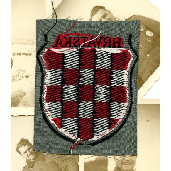 Kroatian army volunteer sleeve shield by Bevo
