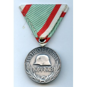 Hungarian 1914-1914 commemorative medal, austrian mount