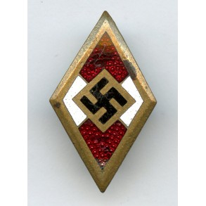 "HJ Honor pin in gold by W. Deumer ""M1/120"""