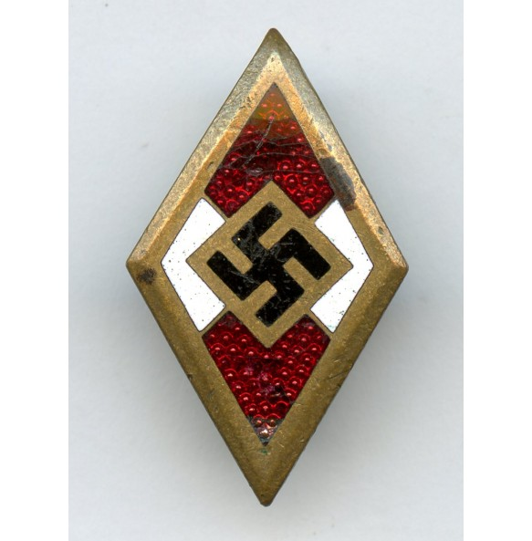 """HJ Honor pin in gold by W. Deumer """"M1/120"""""""