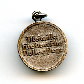 Social welfare medal miniature