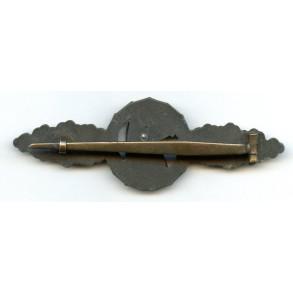 Luftwaffe reconnaissance clasp in bronze by C.E. Juncker
