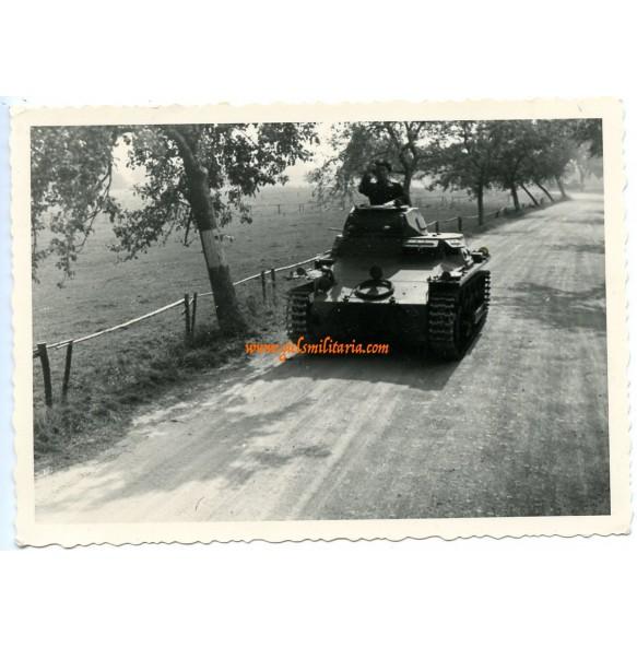 Private snapshot Panzer I in action, Uffz. Sandrock (2)