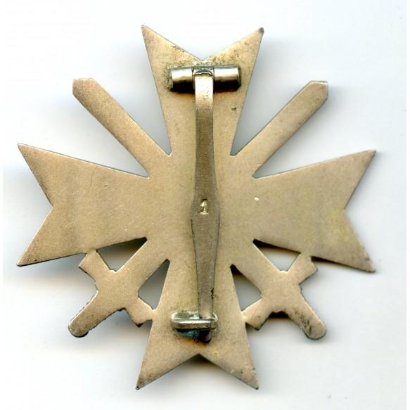 War Merit Cross 1st class with swords by Deschler & Sohn