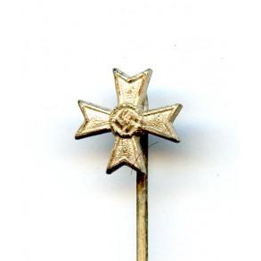 """War merit cross 1st class with swords 9mm miniature by Steinhauer & Lück """"L/16"""""""
