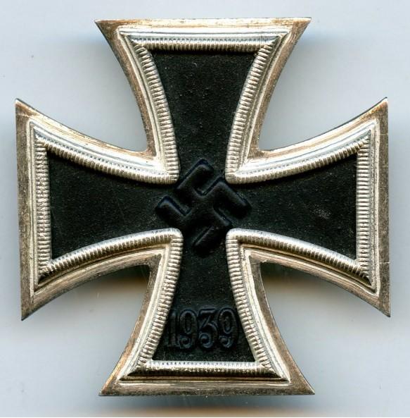 "Iron cross 1st class by W. Deumer ""L/11"""